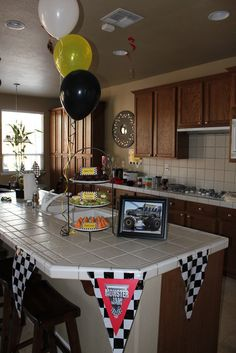 """Photo 4 of 37: Monster Truck / Birthday """"Monster Jam Party""""   Catch My Party"""