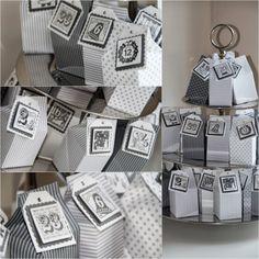 Themenwoche Adventskalender Mini Milchtüte - beadsdesign     ♥♥♥♥    love