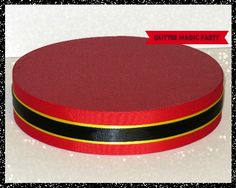 Red Stand - Lollipops or Cakepops Stand - Red, Yellow and Black Colors