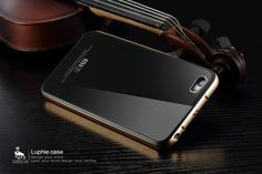 LUPHIE Brand Luxury Phone Case For Xiaomi Mi5 M5 Scratch-resistant Tempered Glass Metal Case Cover For Xiaomi Mi5 Pro / Prime