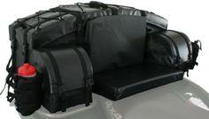 ATV Tek Arch Bag ATV Cargo Bag Black