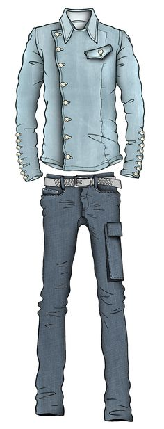 Jaa original fashion illustration