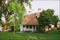 A beautiful and charming bed and breakfast cottage in the foothills of the Carpathian mountains in Transylvania, Romania. Castle Bed, Carpathian Mountains, Case, Bed And Breakfast, Romania, Gazebo, Places To Go, Cottage, Outdoor Structures