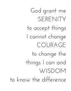 graphic about Printable Serenity Prayer called Serenity Prayer Printable Prices Serenity prayer quotations