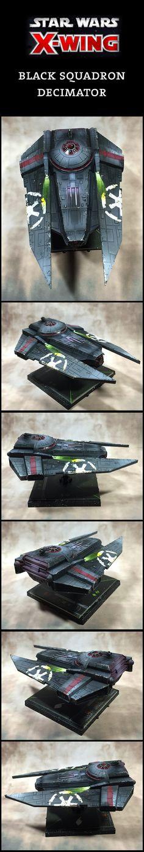 X-Wing Miniatures Black Squadron Decimator