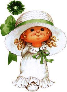 St Patrick's Day Cookies, Happy Birthday Vintage, Sarah Key, Baby Girl Quotes, Irish Leprechaun, Pix Art, Cute Clipart, Holly Hobbie, St Paddys Day