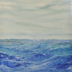 Original Seascape Painting by David Snider Deep Paintings, Seascape Paintings, Impressionism Art, Impressionist, Oil On Canvas, Canvas Art, Berlin, Original Art, Original Paintings