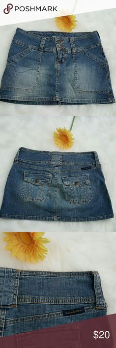 Abercrombie and fitch mini skirt It has some stretch. It is 13 inches long and 15 inches wide flat. Abercrombie & Fitch Skirts Mini