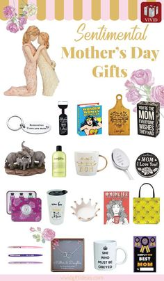 20 Sentimental Mothers Day Gift Ideas