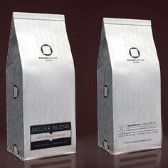 branding of a local coffee roastery.