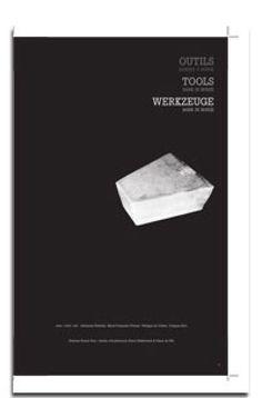 Outils / Tools / Werkzeuge / Collectif / Pierre Hebbelinck (Fourre-tout, isbn: 978-2-930525-07-5)