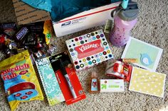 a moving survival box...totally going to make this for the next friend that moves!