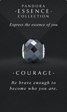 Express the essence of you. #PANDORAessencecollection #PANDORAcharm #Courage