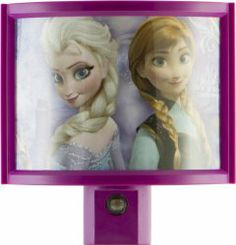 Luz De Noche Proyecta A Disney Frozen Solo $6.99+$4.99 Envio!