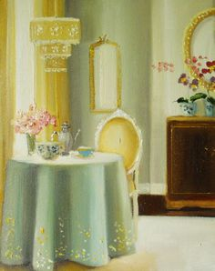 Janet Hill - The Morning Room I like her cheerful artwork.