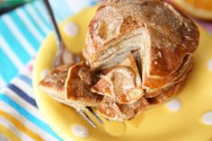 Sweet Healthy Pancakes form Our Best Bites -- 2 ingredients -- a banana and 2 eggs!  gluten-free, diary free, low cal, high protein.  hmmm....gonna have to try these.