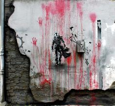 #streetart this is so cool! whis i could make something this cool!