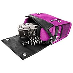 Amazon.com : Small Digital Camera Crossbody Shoulder Bag, VanGoddy Metric Bag for Canon EOS / Canon PowerShot SX60 (Purple) : Camera & Photo