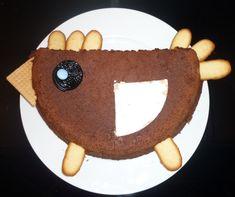 gâteau en forme de poule