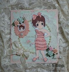 Sweet Nothings Stamp Co.- Dress Me Up Sophie