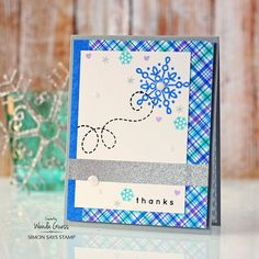 Simon Says Stamp Card Kit of the Month January 2016 FLURRIES OF LOVE CKJAN16 at Simon Says STAMP!