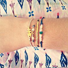 Minimal bracelets -set- made with love..<3