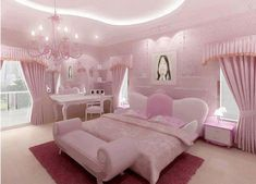 Pink is the perfect colour for girl's bedroom! Discover more pink inspirations with Circu furniture for kids' bedroom: CIRCU. Pink Bedroom Decor, Pink Bedrooms, Glitter Bedroom, Bedroom Ideas, Woman Bedroom, Girls Bedroom, Dream Rooms, Dream Bedroom, Rose Bedroom