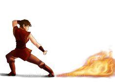 Firebender OC by AyA-KR.deviantart.com on @deviantART