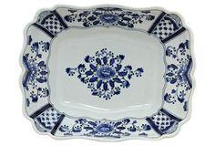 Antique Blue & White    Bowl