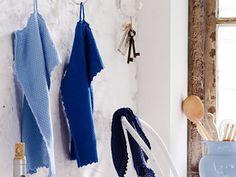 Gestrickte Küchentücher - kostenlose Strickanleitung | Für Sie