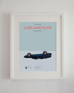 Affiche du film Fargo voiture de film affiche A3 par CarsAndFilms