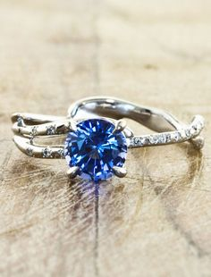 Melinda - Sapphire | Ken & Dana Design