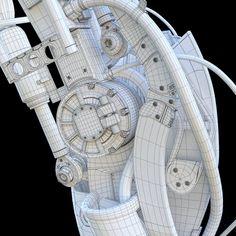 ArtStation - Robotic Arm, Alexey Vasilyev