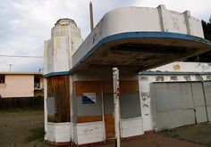 Abandoned Gas Station - Oakland, CA