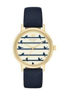 Birds on Wire Metro Watch by Kate Spade New York. #for_my_lovebird