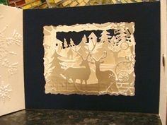 IC414 - Christmas Scene Tunnel Book by girlgeek101 - Cards and Paper Crafts at Splitcoaststampers