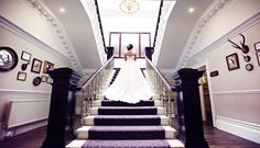 Ashfield House Exclusive Wedding Venue Lancashire, the grand staircase thanks to @teresaadele