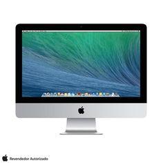 iMac, Intel Core i5 Quad Core, 8GB, 1TB, Tela de 21,5''. Confira na Fast Shop.