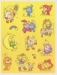 Rainbow Bright Scratch & Sniff @clumsykoala @dinadomantay