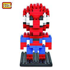 LOZ 130Pcs Spider-man Building Block Creative ABS Material Kid Toy M - 9154 #shoes, #jewelry, #women, #men, #hats, #watches