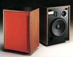Vintage audi JBL L65A speakers
