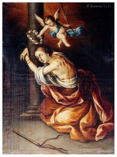 The story of St. Bibiana, virgin and martyr