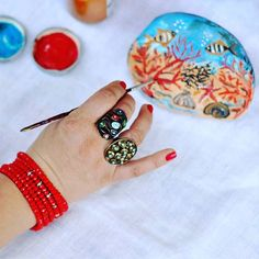 #dipingendopietre #colours #stone #beautiful #fondali #fondalemarino