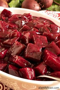 This Harvard Beets recipe is a classic New England side dish that has been around for generations. You'll love the sweet and sour sauce! Harvard Beets Recipe Canned, Canned Beets Recipe, Beet Recipes, Vegetable Recipes, Cooking Recipes, Cabbage Recipes, Vegetarian Recipes, Beet Smoothie