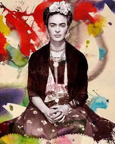 Kahlo had a volatile marriage with the famous Mexican artist Diego Rivera.