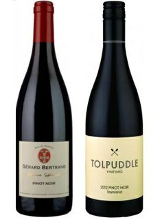 Our third most popular drop on Pinot Heaven was tied! #Tolpuddle Pinot Noir and Gerard Bertrand Pinot Noir proved to be equally popular.  #pinotnoir #wine #frenchwine #ozwine