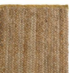 Teppich Nandi, Jute, Natur, 140x200x1 cm