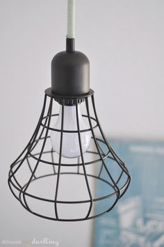 Delineate Your Dwelling: How to wrap an Open Light fixture cord