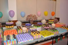Festa Infantil mesa de centro