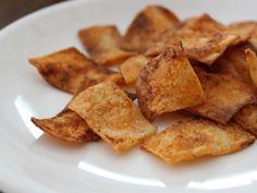 Gluten Free Tortilla Crackers